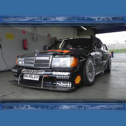 Mercedes 190E W201 Wide Body Kit EVO 2 style