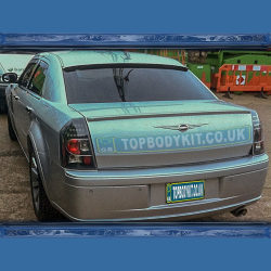 Chrysler 300C Window Spoiler