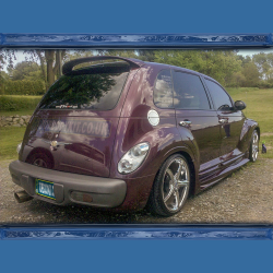 Chrysler PT Cruiser Roof Spoiler