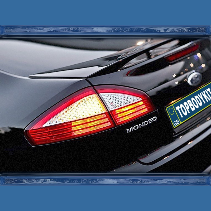 Ford Mondeo MK4 Hatchback Boot Spoiler