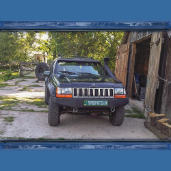 Jeep Grand Cherokee (ZJ) Front Window Spoiler