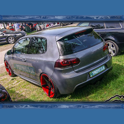 VW Golf MK6 Roof Spoiler R32 Style