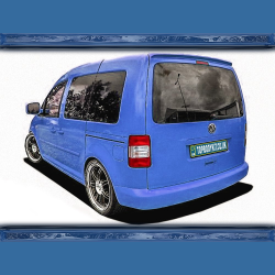 VW Caddy MK3 (03-15) Roof Spoiler Tailgate