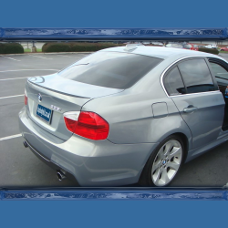 BMW E90 (05-11) M tech Style Boot Spoiler
